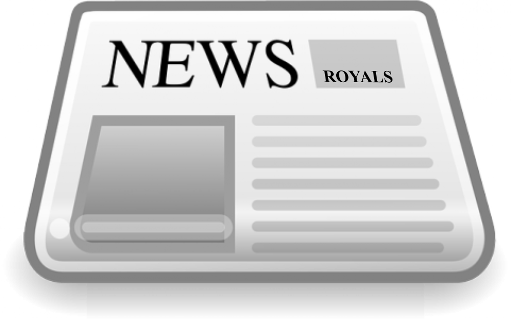 Newsletter des royals